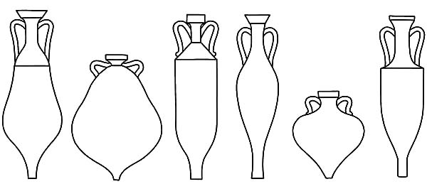 Jar, : Romans Jar Coloring Pages