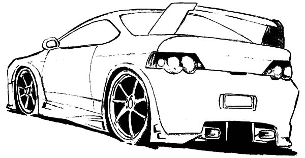 Audi Cars, : Sport Audi Cars Coloring Pages