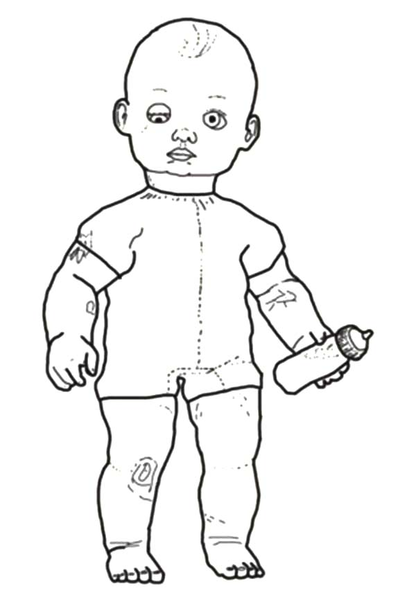 Baby toys coloring pages coloring page for Baby toys coloring pages