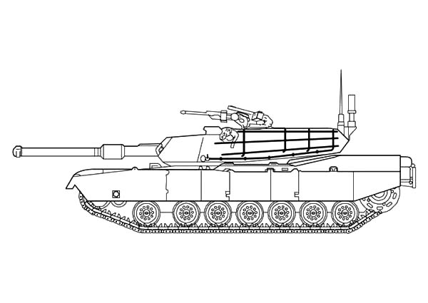 Army Car, : War Tank Army Car Coloring Pages